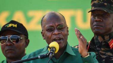 Președintele Tanzaniei, John Magufuli, candidează pentru un nou mandat.