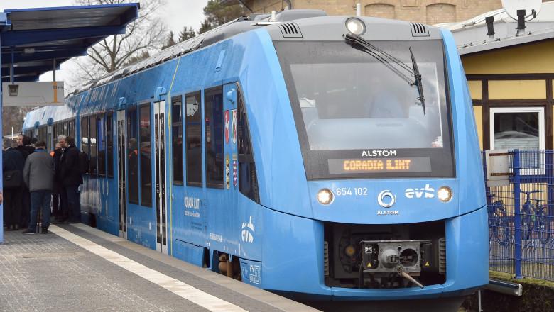 tren pe hidrogen