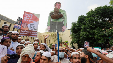 Proteste anti-Macron în Bangladesh