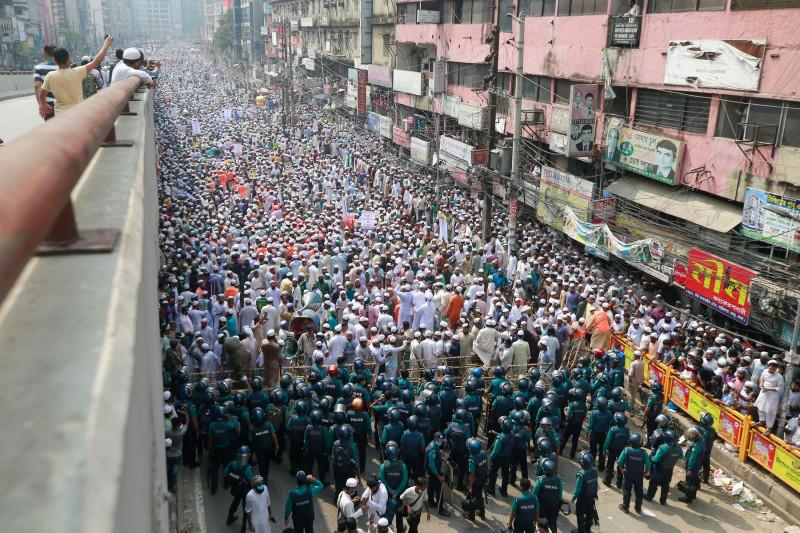 Protest bangladeș