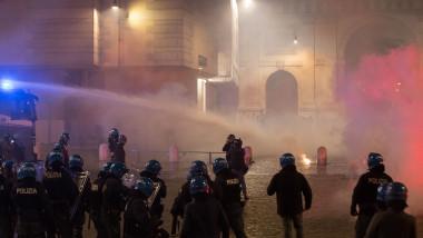 Proteste la Roma