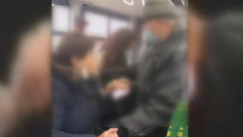Doi pasageri s-au luat la bătaie într-un autobuz din Iași.