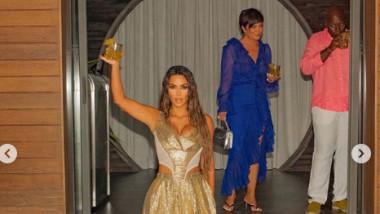 Kim Kardashian a împlinit 40 de ani.