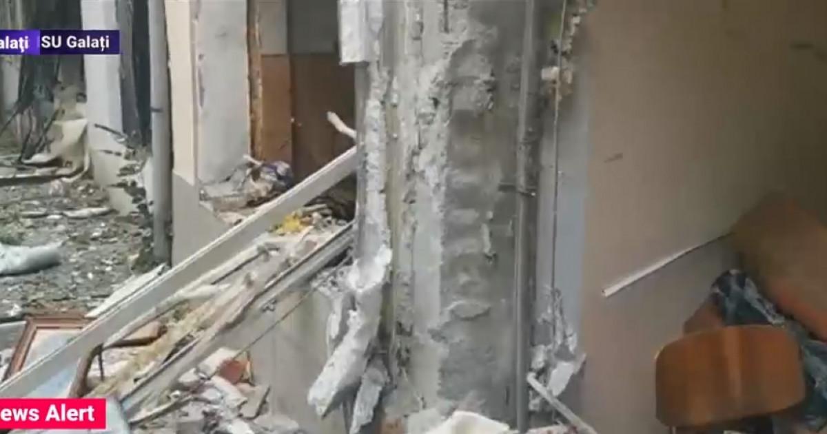 Explozie puternica in Galati - WOWBiz  |Explozie Galati