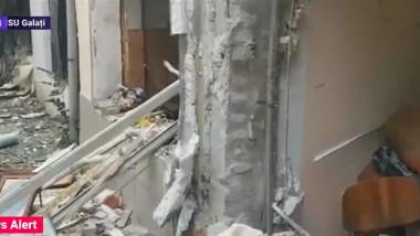 bloc galati explozie - captura
