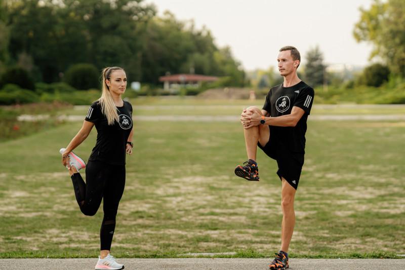 Anca Bucur și Alex Corneschi, căpitanii Adidas Runners Bucharest