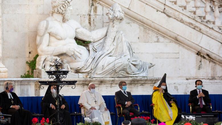 rugaciune colectiva pentru pace la roma