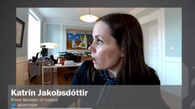 Un cutremur cu magnitudinea 5,5 a zguduit capitala Islandei. Șefa guvernului, surprinsă în direct în timpul seismului