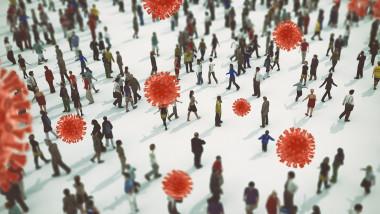 Raspindirea noului coronavirus in societate