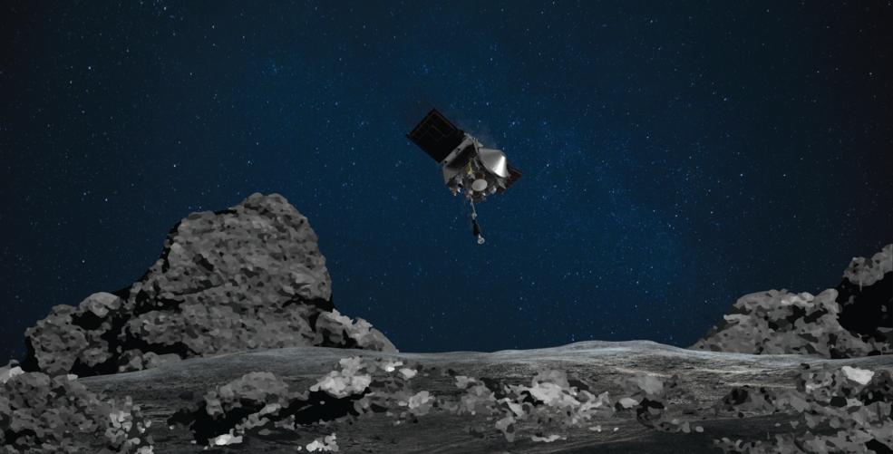 Moment istoric. NASA a reusit sa ia mostre de pe un asteroid, intr-o misiune fara precedent