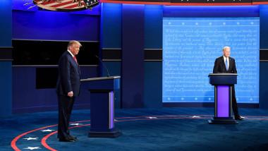 dezbaterea finala Trump Biden