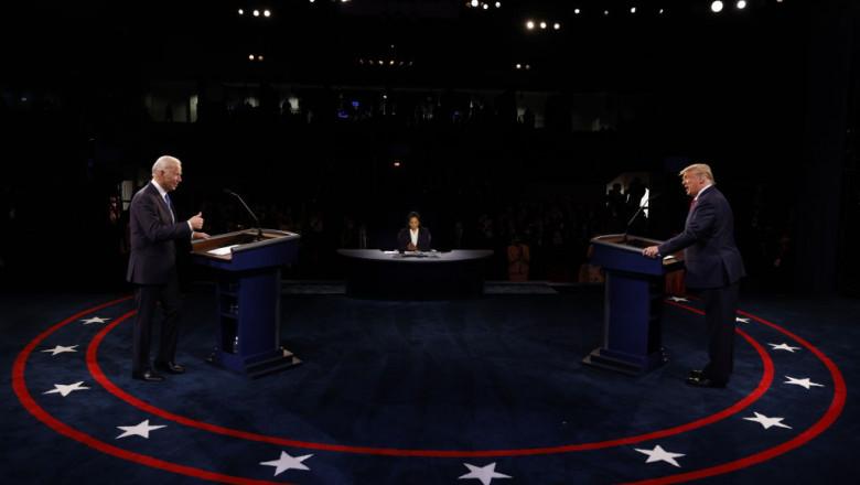 dezbatere electorala trumo bden getty