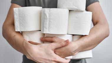 Vânzările de hârtie igienică au crescut, din nou, în Germania.