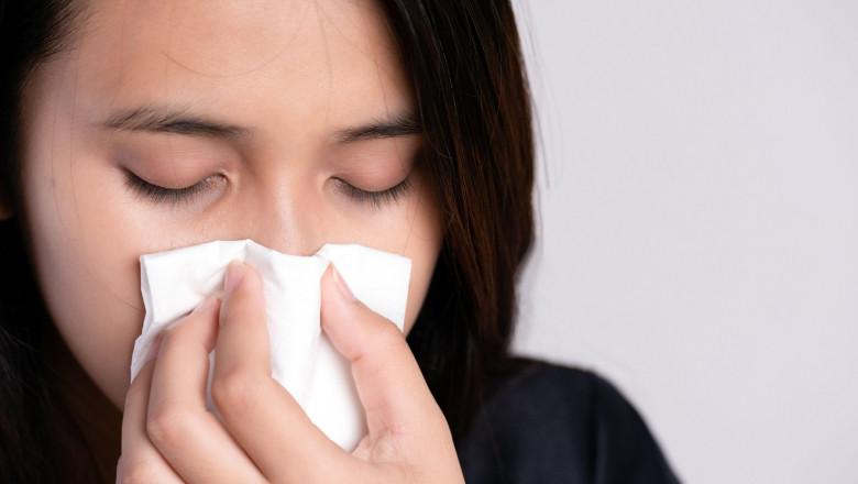 caz de gripa