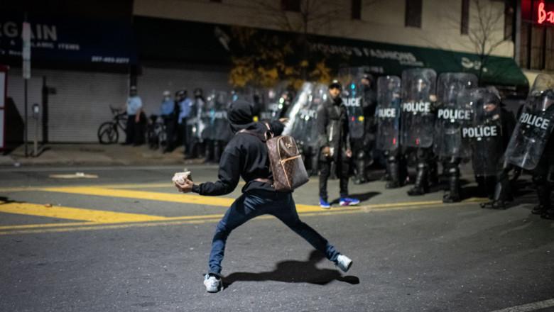 proteste in Philadelphia