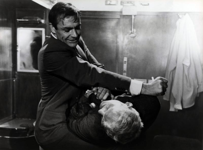 """Sean Connery în """"Din Rusia, cu dragoste"""", film din seria James Bond."""
