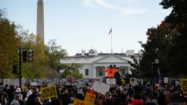 protest blm dupa alegerile din sua