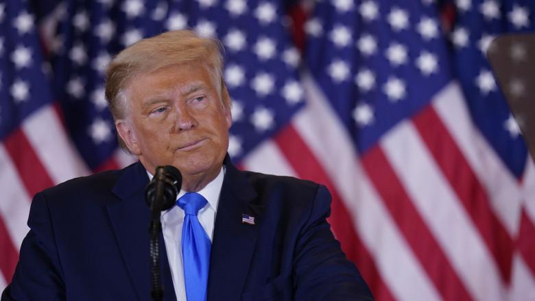Alegeri SUA 2020. Donald Trump evocă pentru prima dată posibilitatea unei înfrângeri