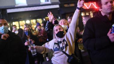 Londonezii au profitat de ultima zi de libertate înainte de lockdown