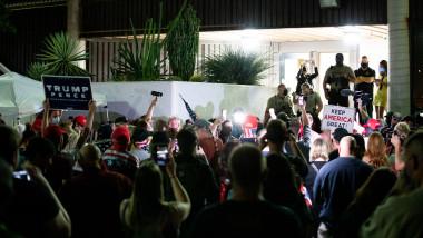 Susținători Trump furioși în Arizona