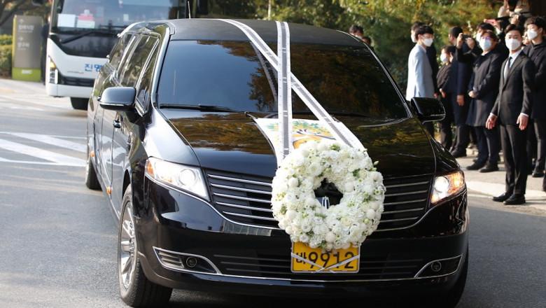 Funeral of late Lee Kun-hee, chairman of Samsung Electronics
