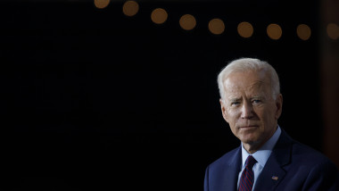 Democratic Presidential Candidate Joe Biden Speaks On White Nationalism In Iowa