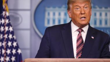Donald Trump, declarații în timpul numărătorii voturilor