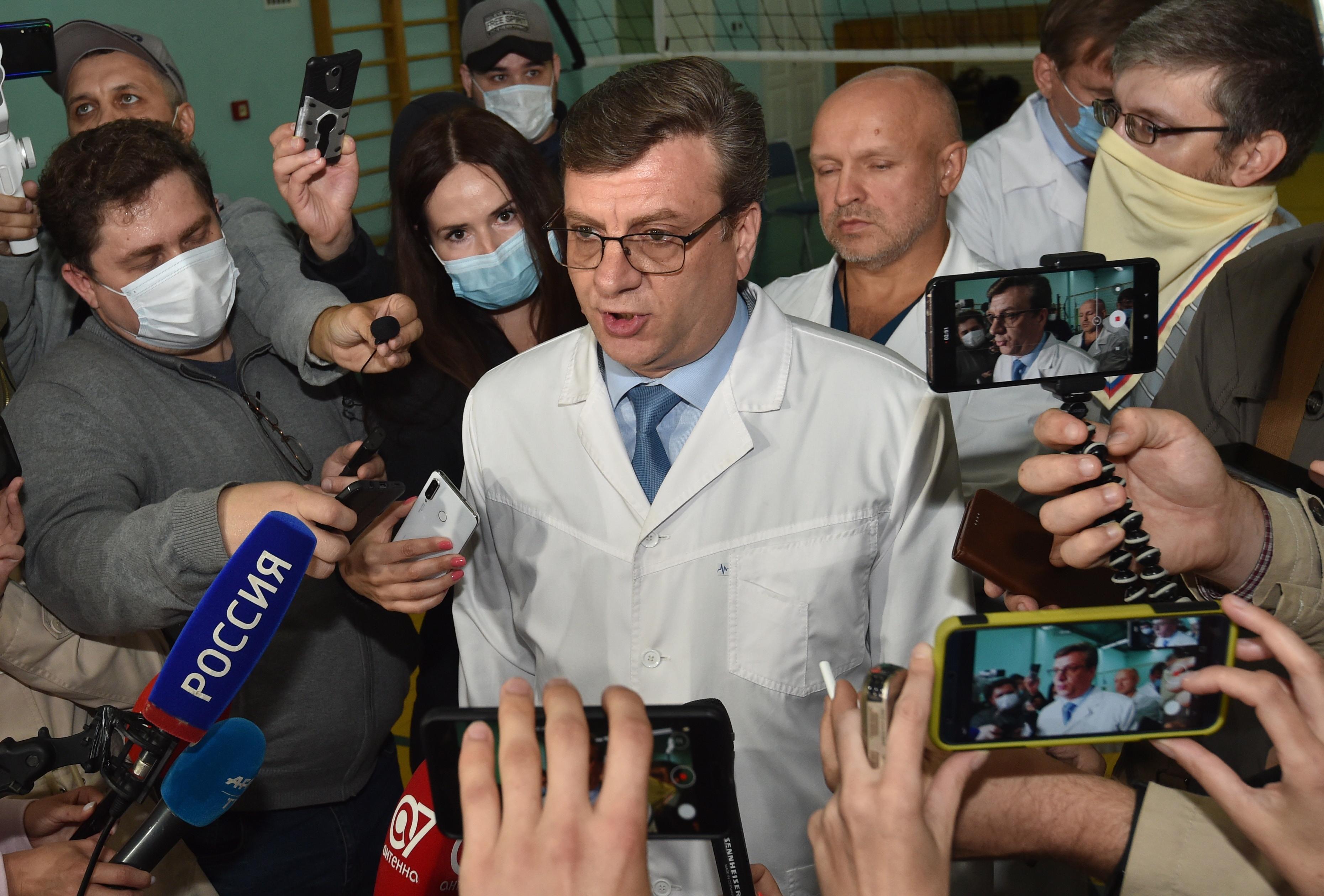 Aleksandr Murahovski, medicul-şef al spitalului din Omsk unde a fost tratat Navalnii, a fost dat disparut