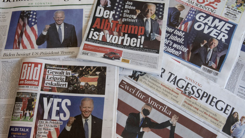 Germany Reacts To Biden Victory In US Presidential Election