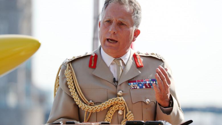 Ben Wallace visits HMS Tamar