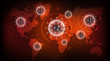 harta glob coronavirus