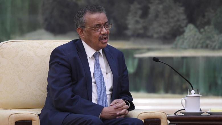 Tedros Adhanom Ghebreyesus in china