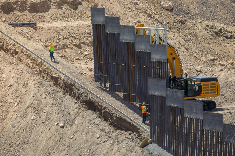 construire zid la granita SUA Mexic