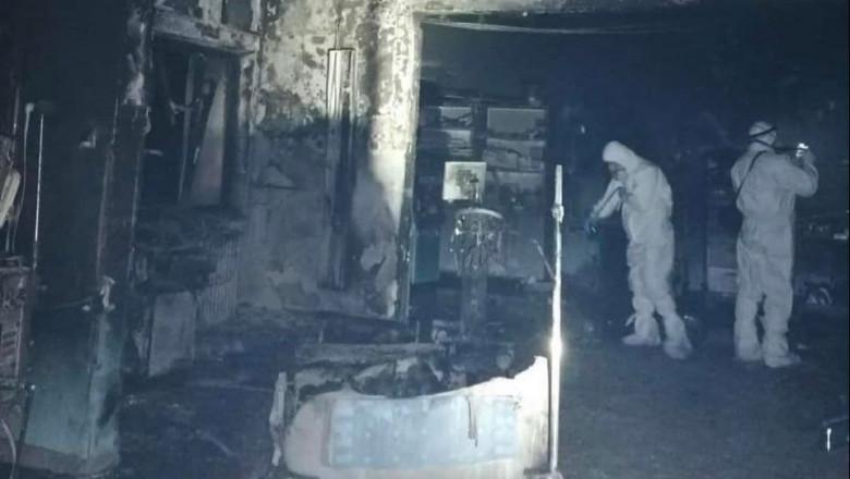 Incendiu în secția ATI a Spitalului Județean Piatra Neamț