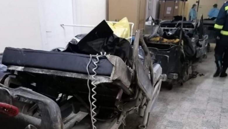 Pacienții arși în spitalul din Piatra Neamț nu au fost încă identificați