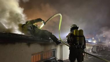 pompieri berlin metrou incendiu