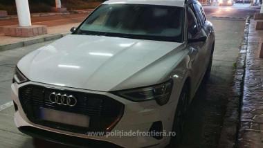 Mașină electrică de lux, de 100.000 de euro, furată din Germania