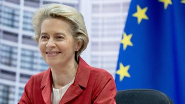 Ursula von der Leyen, președinta Comisiei Europene