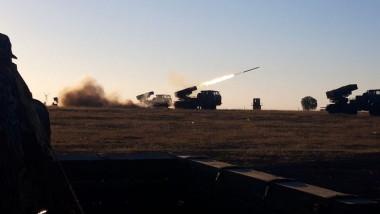 trageri cu sisteme mobile de artilerie lansatoare de rachete din dotarea Armatei Române