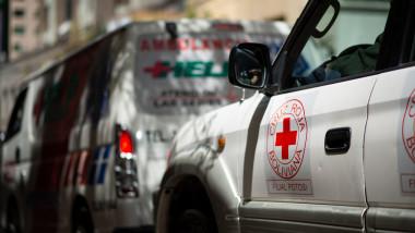Ambulanță Crucea Roșie Bolivia