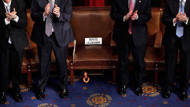 Ședință în Congresul SUA, 8 ianuarie 2008, când Barrack Obama a devenit președintele SUA