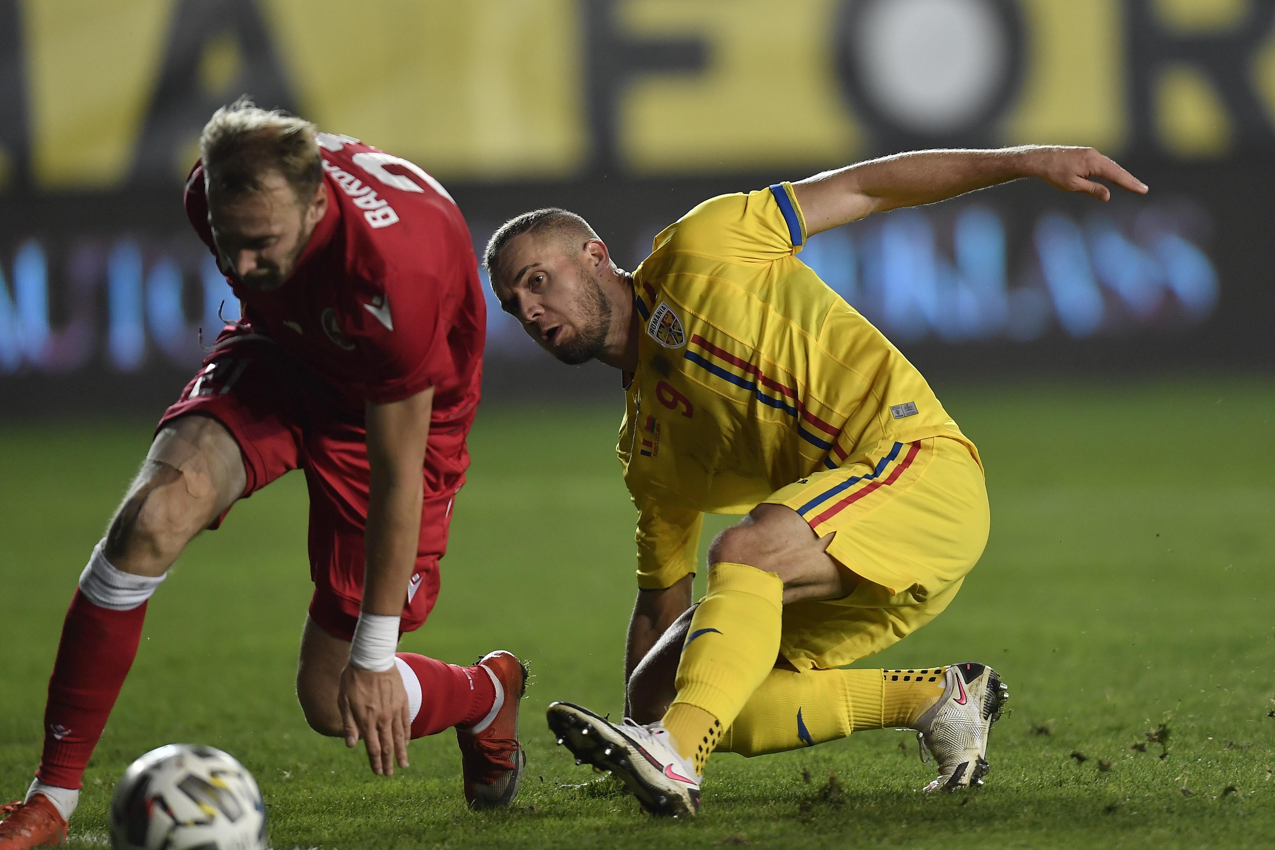 Romania, test cu Belarus. Un meci cu 8 goluri si doua reprize diametral opuse