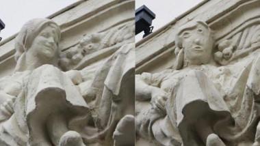 statuie restaurata in spania