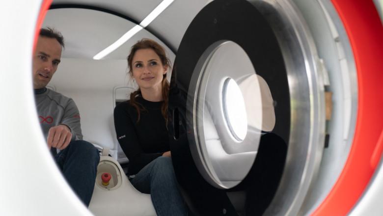 sara luchian in hyperloop