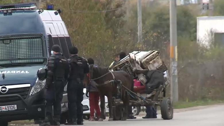 Descinderi ale Gărzii de Mediu, Poliției și Jandarmeriei în localitatea Sintește din jud, Ilfov, considerată una dintre sursele de polulare a Capitalei