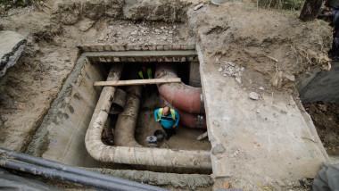 lucrări reparaţii ţevi conducte apă caldă Bucureşti