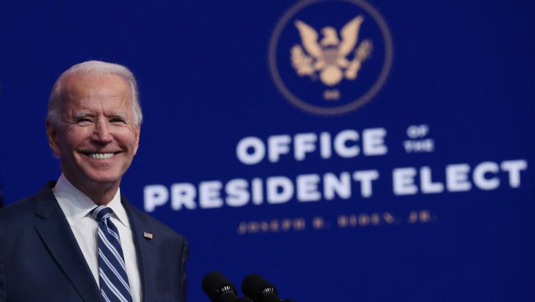 Joe Biden, președintele ales al Statelor Unite