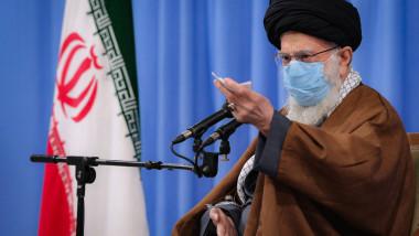 ali khamenei cu masca profimedia-0570886125