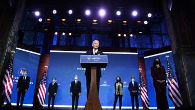 Joe Biden şi echipa sa diplomatică şi de securitate naţională de la Casa Albă