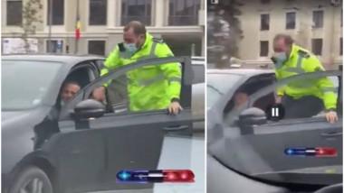 politist captura
